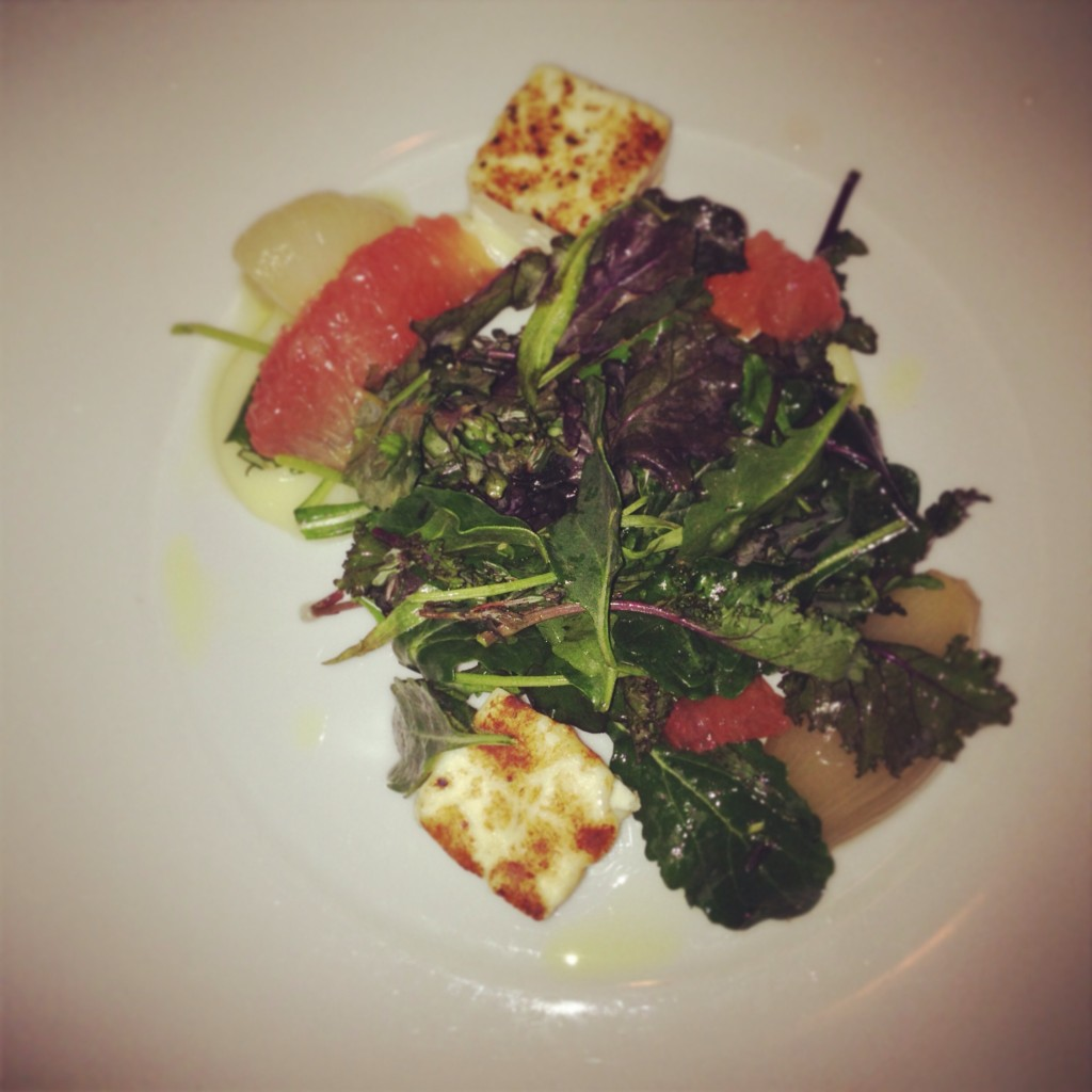 Grapefruit Herb Salad