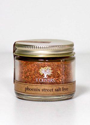 Phoenix Street Seasoning Salt Free - F. Oliver's Spice Blends - Canandaigua, NY