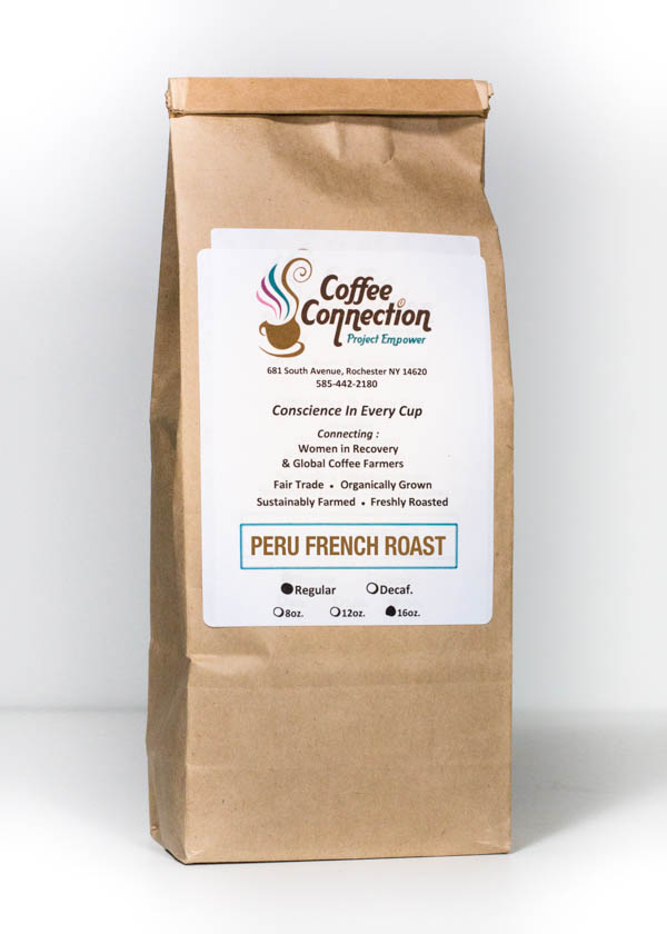 Peru French Roast | The Coffee Connection | F. Oliver's Exceptional Ingredients