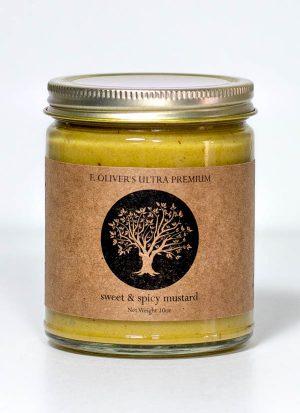 Sweet & Spicy Mustard - F. Oliver's Oil's & Vinegars - Canandaigua, NY