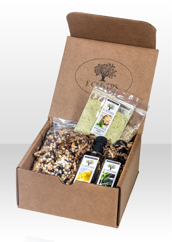Popcorn Kit | Specialty Boxes | F. Oliver's Oils and Vinegars
