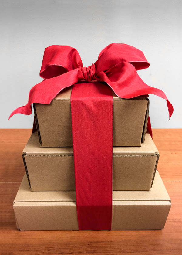 Tower of Gift Boxes | F. Oliver's Exceptional Ingredients - Canandaigua, NY