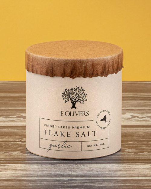 F. Oliver's Garlic Finger Lakes Premium Flake Salt
