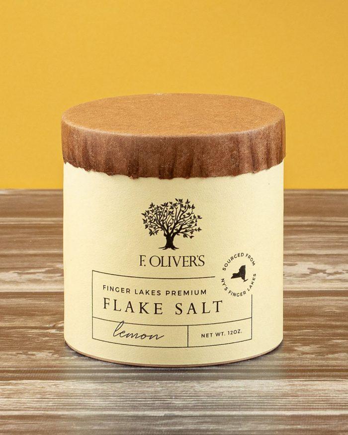 F. Oliver's Lemon Finger Lakes Premium Flake Salt