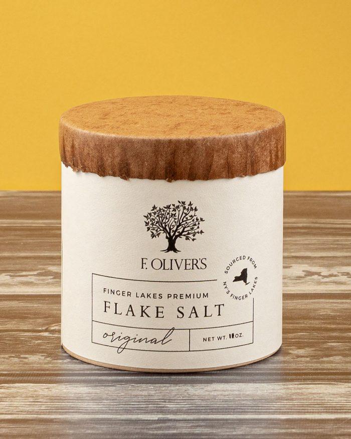 F. Oliver's Original Finger Lakes Premium Flake Salt