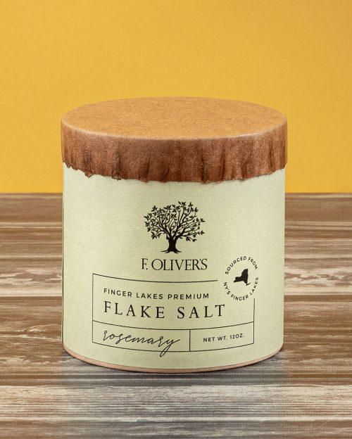 F. Oliver's Rosemary Finger Lake Premium Flake Salt