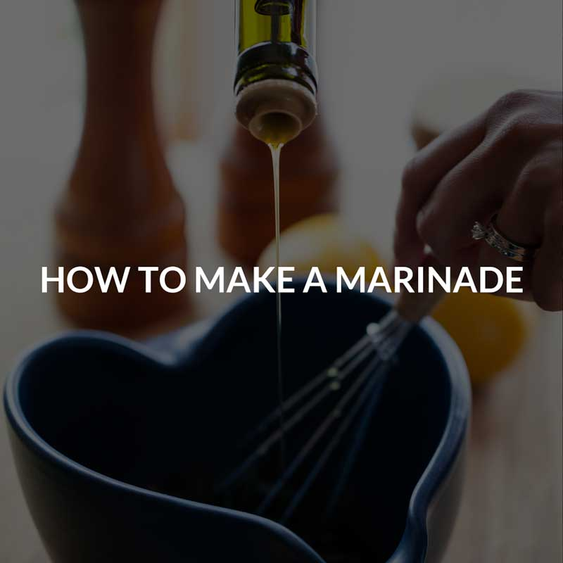 Learn: How to make a marinade