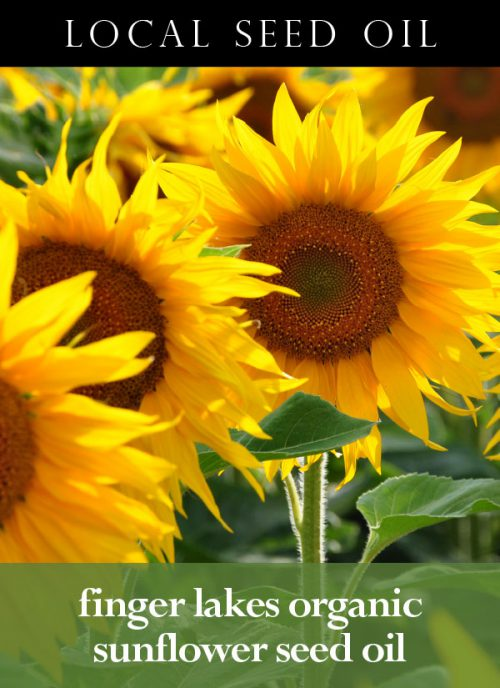 Finger Lakes Organic Sunflower Seed Oil